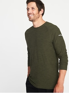 Go-Dry Built-In Flex Performance Tee for Men