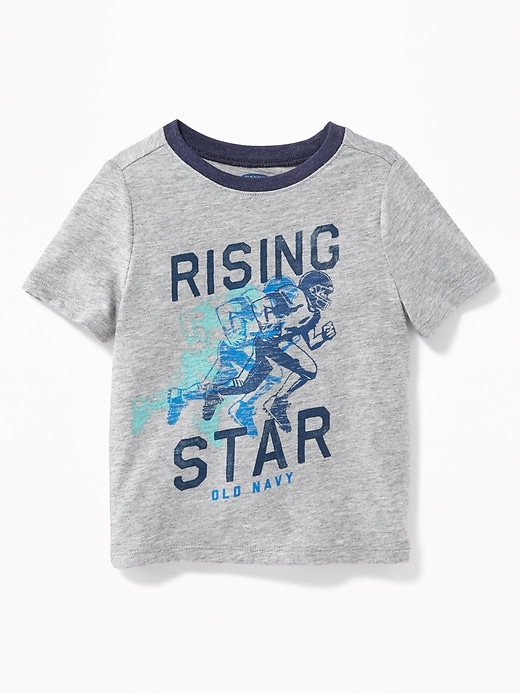 Logo-Graphic Tee for Toddler Boys