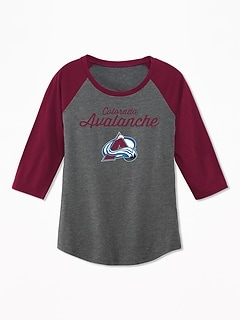 NHL&#174 Raglan Tee for Girls