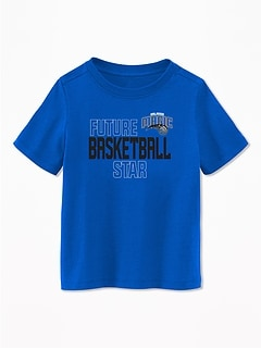 "NBA® ""Future Basketball Star"" Team Graphic Tee for Toddler Boys"