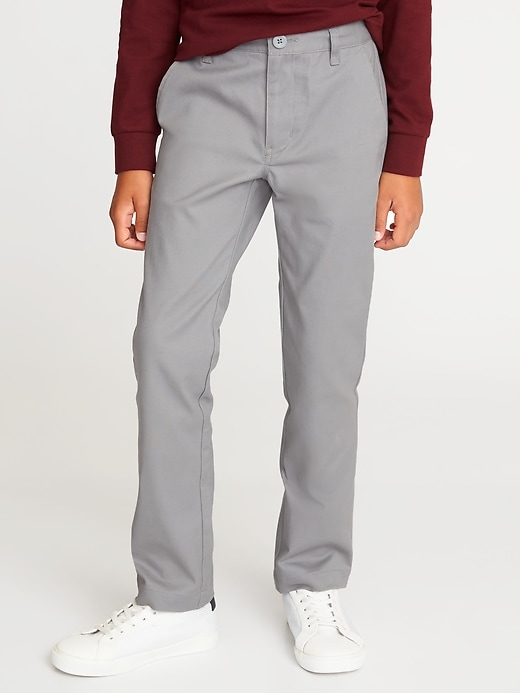 Skinny Built In Flex Uniform Pants For Boys by Old Navy
