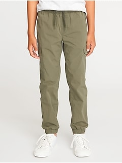 Built-In Flex Dry-Quick Cargo Joggers for Boys