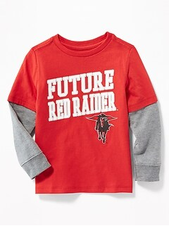 "College-Team ""Future"" Graphic 2-in-1 Tee for Toddler Boys"