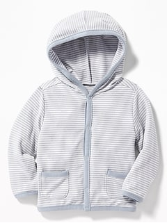 French-Terry Hoodie for Baby