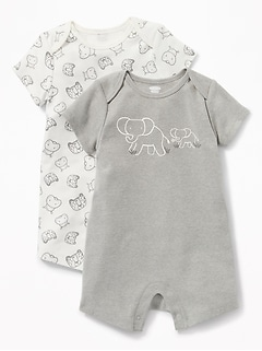 Graphic Jersey One-Piece 2-Pack for Baby