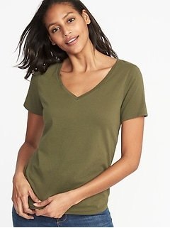 EveryWear V-Neck Tee for Women