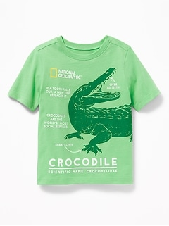 National Geographic&#153 Crocodile Tee for Toddler Boys