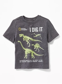 National Geographic&#153 Dinosaur-Fossil Tee for Toddler Boys