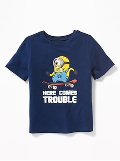 "Minions&#153 ""Here Comes Trouble"" Tee for Toddler Boys"