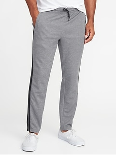 Go-Dry Side-Stripe Track Pants for Men