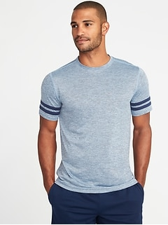 Regular-Fit Go-Dry Performance Tee for Men