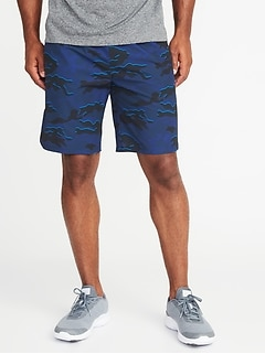 Go-Dry 4-Way Stretch Run Shorts for Men - 9-inch inseam