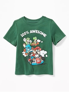 "Mario Kart&#153 ""100% Awesome"" Tee for Toddler Boys"