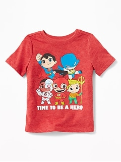 "DC Comics&#153 Justice League ""Time to Be A Hero"" Tee for Toddler Boys"