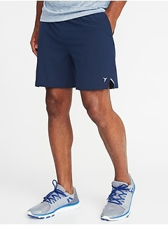 "Quick-Dry 4-Way Stretch Run Shorts for Men (7"")"