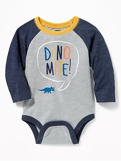 Graphic Raglan Bodysuit for Baby