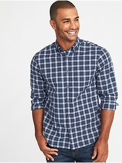 Regular-Fit Built-In-Flex Everyday Shirt for Men