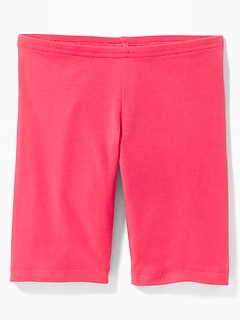Mid-Length Bike Shorts for Girls