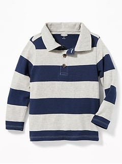 Striped Polo for Toddler Boys