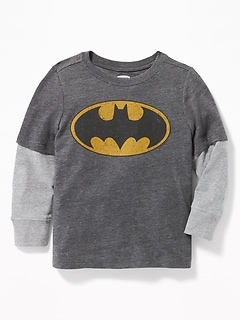DC Comics&#153 Batman 2-in-1 Tee for Toddler Boys