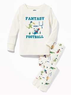 """Fantasy Football"" Dragon Sleep Set for Toddler Boys & Baby"