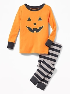 halloween graphic sleep set for toddler baby