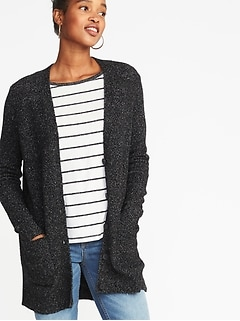 Bouclé Boyfriend Cardi for Women