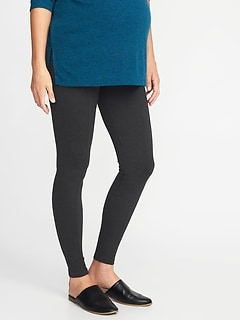 Maternity Stevie Full-Panel Ponte-Knit Pants