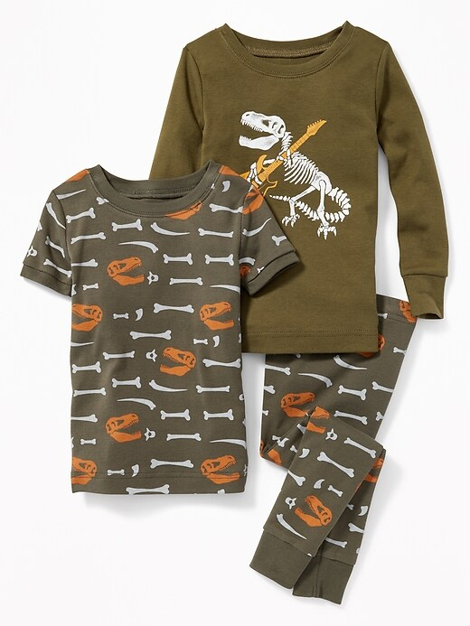 Dinosaur Graphic 3 Piece Sleep Set For Toddler Boys & Baby by Old Navy