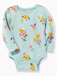 Thermal Crew-Neck Bodysuit for Baby