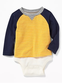 2-in-1 Raglan Bodysuit for Baby