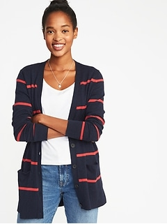 Boyfriend V-Neck Cardi for Women