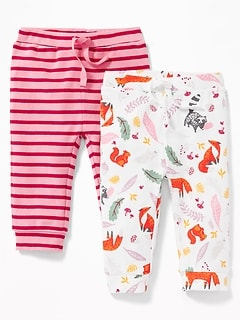 2-Pack Rib-Knit Leggings for Baby