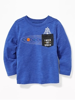 """I Need My Space"" Graphic Tee for Toddler Boys"