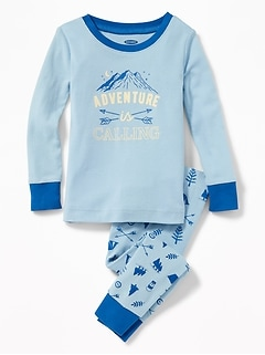 """Adventure Is Calling"" Sleep Set for Toddler Boys & Baby"
