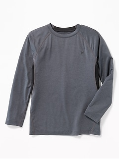 Go-Dry Base-Layer Performance Tee for Boys