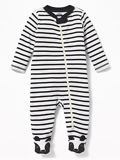 Footed Bear-Critter One-Piece for Baby