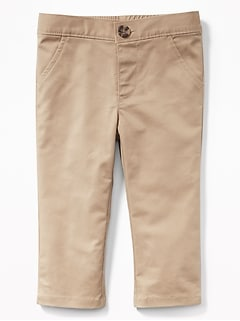 Unisex Built-In Flex Skinny Chinos for Baby