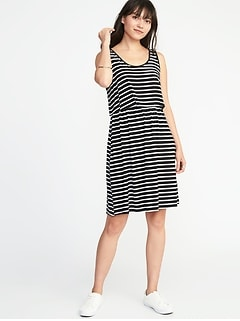 Maternity Double-Layer Nursing Dress