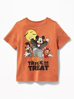 "Disney&#169 Mickey & Friends ""Trick or Treat"" Tee for Toddler Boys"