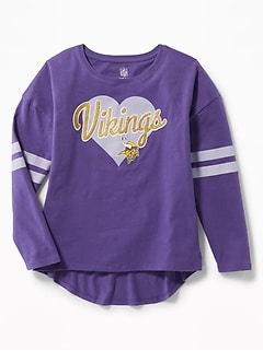 NFL® Team Hi-Lo Tee for Girls