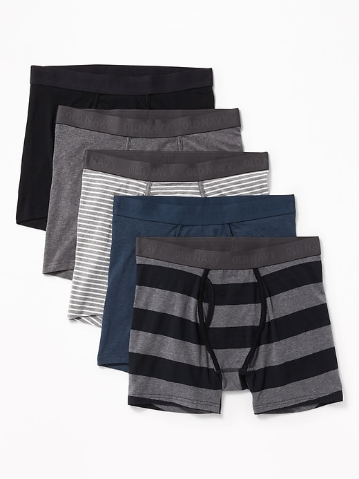 Soft-Washed Boxer Briefs 5-Pack for Men