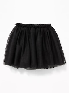 Ruffle-Waist Tulle Tutu Skirt for Baby