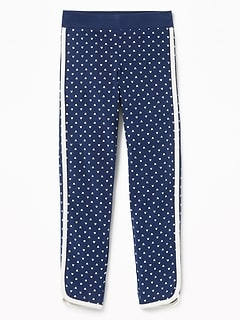 Disney&#169 Mickey Mouse Printed Dolphin-Hem Leggings for Girls