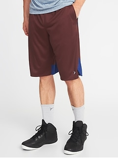 "Go-Dry Mesh Basketball Shorts for Men (12"")"