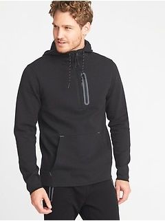 Built-In Flex 1/2-Zip Hoodie for Men