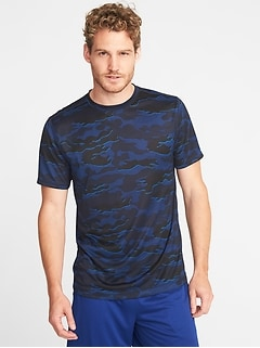 Go-Dry Eco Regular-Fit Tee for Men