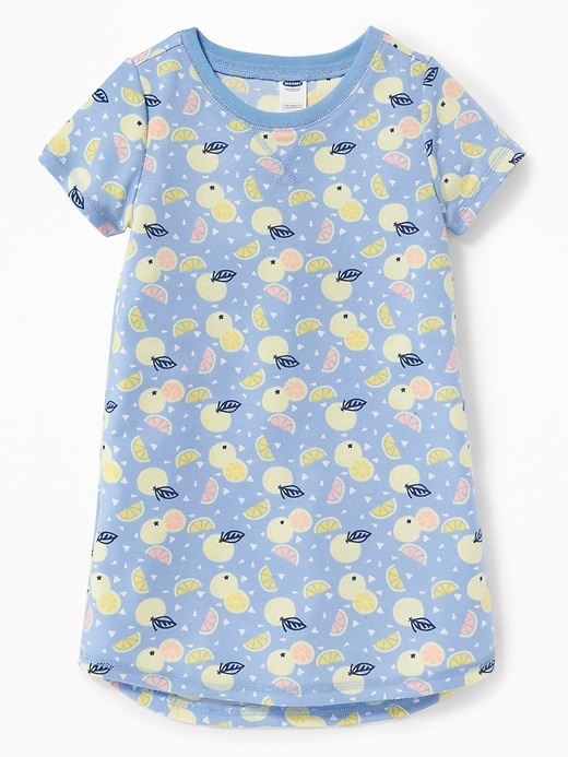 Lemon Print Sleep Dress For Toddler & Baby by Old Navy