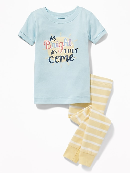 """As Bright As They Come"" Sleep Set For Toddler & Baby by Old Navy"