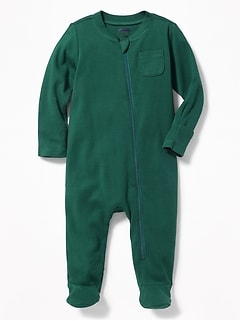 Footed One-Piece for Baby